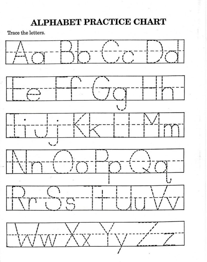 Tracing Letters Worksheet Az Alphabet Tracing for Kids Activity Shelter Worksheets 7th