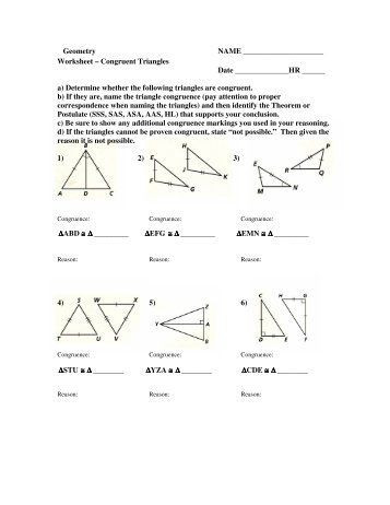 Triangle Proofs Worksheet Answers More Congruent Triangles Worksheet Answers Quiz Worksheet