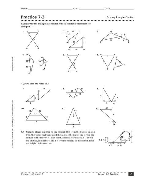 Triangle Proofs Worksheet Answers Proving Triangles Congruent Worksheet Answer Key Triangle