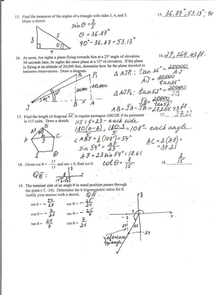 Trig Identities Worksheet with Answers Simplifying Trigonometric Identities Penguin Worksheet