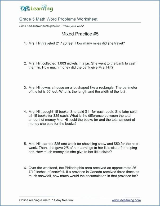 Unit Conversion Word Problems Worksheet Math Conversion Worksheets 5th Grade Measurement Conversion