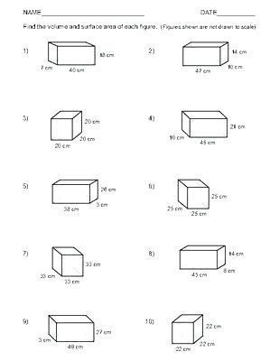 Volume Rectangular Prism Worksheet Pin On Yancy