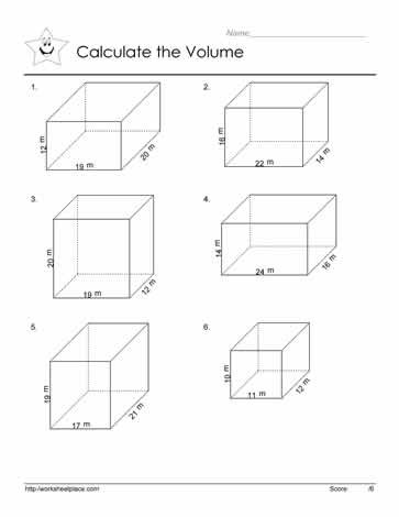 Volume Rectangular Prism Worksheet Volume Of Prism Worksheets