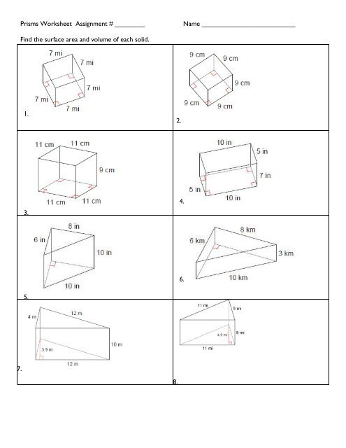 Volume Rectangular Prism Worksheet Worksheet 12 1b