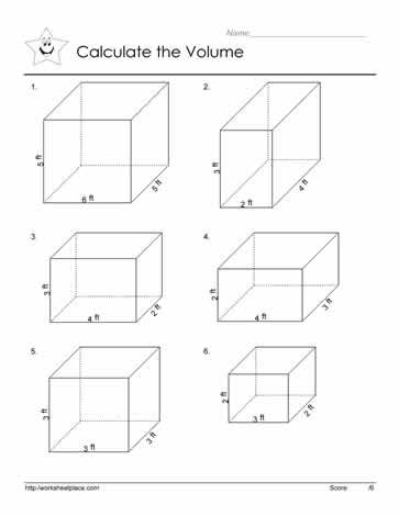 Volumes Of Prisms Worksheet Volume Of Prism Worksheets