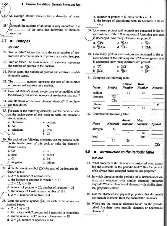 Worksheet atomic Structure Answers Structure the atom Worksheet Answers Promotiontablecovers